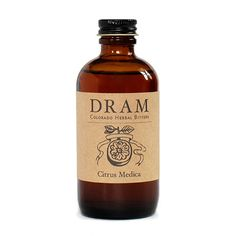 Cocktail Bitters By DRAM | Citrus Medica – DRAM Apothecary