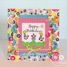 DeNami Design stamps, Pretty Pink Posh dies & sequins, Lawn Fawn square dies, Amy Tan papers {ValByDesign, 2015}