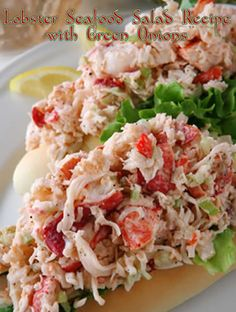This is a very simple idea for a sandwich recipe if you think about it – just seafood plus mayonnaise – but the end result of this amazing combination will reassure you that lobster does not require a lot of additions.