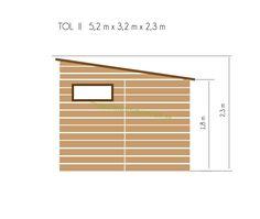 Domčeky a chatky s TERASOU   Záhradný drevený domček s terasou TOL II 9m2 + 6m2, 19mm, s okny   Najlacnějšie záhradné domčeky a chatky, na náradie, drevené, pre deti, pre zvieratá, predajné stánky Blinds, Curtains, Home Decor, Destinations, Viajes, Decoration Home, Room Decor, Shades Blinds, Blind