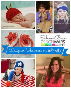 Learn more about the amazing #crochet designer Salena Baca in the Moogly August Designer Showcase! ♥