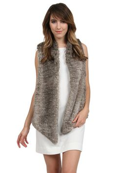 The Kya Vest in Grey by Tart Collections from MFredric.com