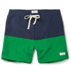 Saturdays Surf NYC Ennis Mid-Length Swim Shorts  | MR PORTER