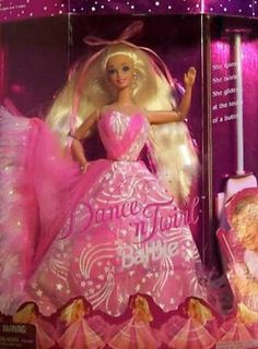 Dance N Twirl Barbie by Mattel. $20.00. Dance n Twirl Barbie is the first Barbie Doll to dance by remote control!. This Barbie is a great addition to any Barbie doll collector.