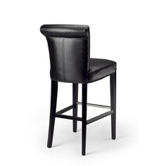 @Overstock - Manhattan Black Leather Bar Stool - Add a classy touch to your home's decor with this bi-cast leather bar stool. This stool features a black finish over solid birch legs.    http://www.overstock.com/Home-Garden/Manhattan-Black-Leather-Bar-Stool/4757234/product.html?CID=214117  $170.99