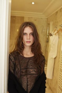 Marine Vacth photographed by Juergen Teller for Interview Germany November 2013