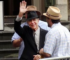 """Leonard Cohen In The Land Of Smurfs"" - Outstanding, Memorable 2012 Ghent Concert Photos - Cohencentric: Leonard Cohen Considered"