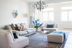Modernt och klassiskt i lägenheten på Djurgården - Sköna hem
