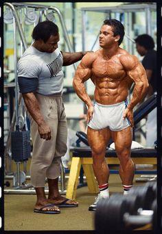 Lee Haney and Rich Gaspari.