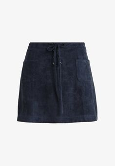 Smash ANJO - A-Linien-Rock - navy - Zalando.at School Outfits, Mini Skirts, Navy, Clothes, Fashion, Angels, Simple Lines, Mini Skirt, Hale Navy
