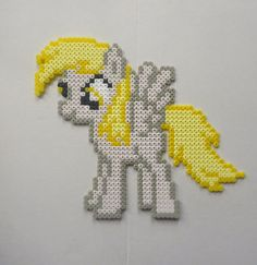 MLP Derpy Hooves perler beads by Noctico