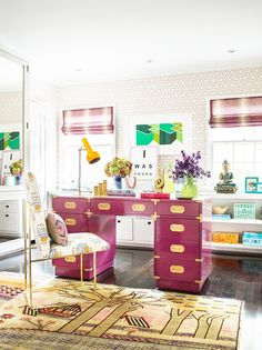 'How to Style Raspberry Pink' from Lifestyle & Design by F&P Interiors - www.fabricsandpapers.com