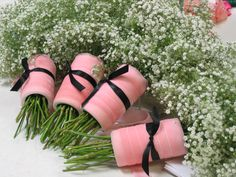 Insulation tubing to make a good handle and cover with material? Bridesmaid Bouquet, Bridesmaids, Lineup, Mary Janes, Insulation, Heels, Bouquets, Handle, Wedding Ideas