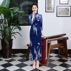 620f9534ce980 60 Best Cheongsam images in 2017   Chinese style, Chinese clothing ...