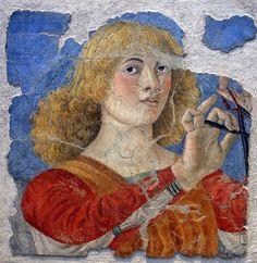 Melozzo da Flori, Musician Angel fresco