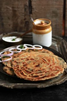 Pudina paratha recipe with step by step photos. Learn how to super crispy, delicious and flaky lachha pudina paratha with this easy recipe! Cooking Bread, Easy Cooking, Cooking Recipes, Paratha Recipes, Bread And Pastries, Recipe Steps, No Cook Meals, Indian Food Recipes, Food Photography