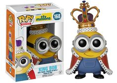 FIGURINE DU ROI BOB EN VINYL (10 CM) KING BOB VINYL FIGURE (4 INCH) FIGURINES