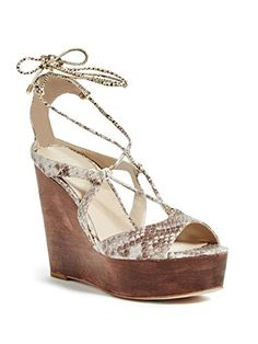 Marciano Shanan LaceUp Wedge -- Offer can be found by clicking the image