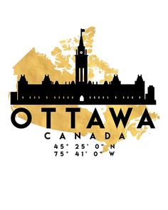 Shop for Noir Gallery Minimal Ottawa Skyline Unframed Art Print/Poster. Get free delivery On EVERYTHING* Overstock - Your Online Art Gallery Store! Map Canvas, Canvas Wall Art, Canvas Prints, Framed Art Prints, Poster Prints, Map Coordinates, Ottawa Canada, Anime Comics, Travel Posters