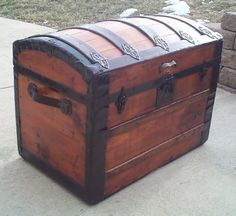 Old Sea Chest