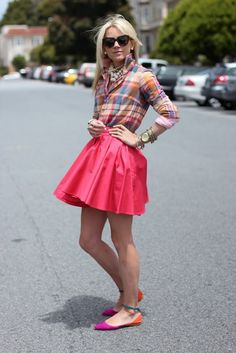 hirts:Jcrew/RL. Skirt: c/o Lulus.com. Shoes: Zara. Sunglasses: Karen Walker. Jewelry: David Yurman, Pomellato, Michael Kors, Gap, BR, Max& Chloe c/o accessorize. Nails: Butter London 'Teddy Girl'.