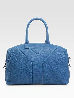 Yves Saint Laurent Medium Leather  Satchel