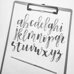 Brush Lettering Brushes Calligraphy Letters Penmanship Blush Letter Art