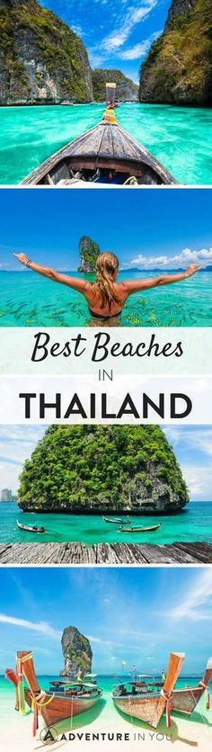 Here is our Ultimate Guide to Thailand's Best Beaches, to help guide you choose your next holiday destination. Thailand has uninhabited beaches to... #beachtravel