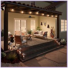 If at all possible, you may use stone patio ideas as a way to add in a seat. At times the stone patio ideas can produce the design a little flat. Among the intriguing stone patio ideas comes from making… Continue Reading → Hunter Ceiling Fans, Backyard Patio Designs, Pergola Patio, Pergola Kits, Diy Patio, Small Backyard Patio, Backyard Porch Ideas, Pergola Shade, Modern Pergola