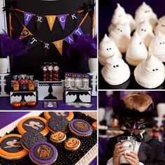 """The first word that comes to mind when you think Halloween might not be """"fancy"""" (unless you're British and prefer to call dressing up """"fancy dress""""), but Paula Biggs of Frog Prince Paperie might just change that with this adorable, black-cat-themed ball."""