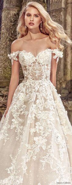 Amalia Carrara Spring 2018 Wedding Dresses