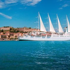 Check off a destination from your bucket list. #WindstarCruises #Cruise