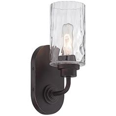 "Gramercy Park 12"" High Old English Bronze Wall Sconce - #8R066 
