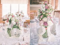 Dreamy Lilac + Blush Wedding Inspiration Gallery - Style Me Pretty Whimsical Wedding, Floral Wedding, Wedding Colors, Elegant Wedding, Wedding Dress, Flower Centerpieces, Wedding Centerpieces, Wedding Decorations, Chandelier Centerpiece
