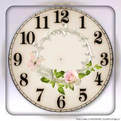 ч11 (660x660, 325Kb) Wallpaper Jam, Iphone Wallpaper Vintage Retro, Clock Face Printable, Victorian Clocks, Clock Flower, Handmade Clocks, Clock Art, Wood Clocks, Decoupage Paper