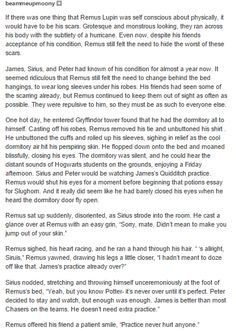 the marauders - remus and sirius part 1
