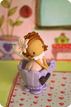 fairy tea cup
