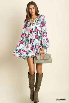 The Perfect Floral Dress