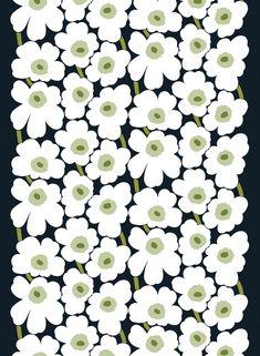 iPhone壁紙 Wallpaper Backgrounds and Plus Marimekko Unikko… Textile Patterns, Textile Design, Fabric Design, Pattern Design, Print Patterns, Textiles, Floral Patterns, Marimekko Wallpaper, Marimekko Fabric