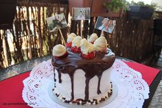 les punyetetes de la Li: DRIP CAKE O TARTA CHORREANTE