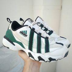 "competitive price d23e3 a6207 𝘧𝘧𝘪𝘣𝘰𝘯𝘢𝘤𝘤𝘪 🇫🇷 on Instagram ""🚷soldvendu🚷 - Adidas Equipment  1996 size us9.5 uk9 eur43 cm27.5 no OG box DM for more info adidasvintage  ..."
