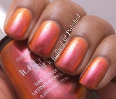 Refined & PolishedReader's Choice Monday ~ Sally Hansen Lava » Refined & Polished