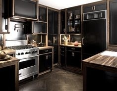 Maybe it's because I love to eat but a kitchen is always my favorite part of a house. Got to have a pretty/nice kitchen