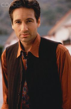 Photo of david duchovny for fans of David Duchovny 21825490 Keanu Reeves, David And Gillian, Dana Scully, David Duchovny, Tv Guide, Famous Men, Sexy Men, Hot Men, A Good Man