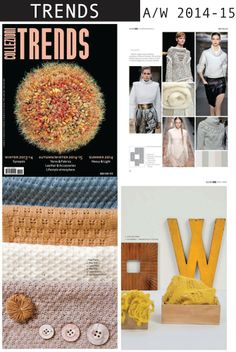 Collezioni Trends latest issue is a comprehensive information on A/W 2014-15 materials.