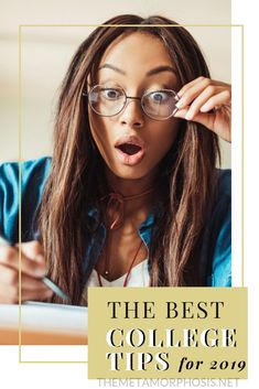 The Best College Tips for 2019 Are you an incoming freshman in college? Even if you're not - these are the best college success tips for surviving college. Every college s College Essay Tips, College Freshman Tips, College Packing Lists, College Guide, First Year Of College, College School Supplies, College Success, College Hacks, College Fun