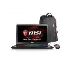GS63VR Ci7-6700HQ 32GB 512GB SSD+1TB 6GB GTX1060 15.6'' 4K W10