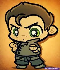 CHIBI Bolin. I can't handle this much cute *squee*