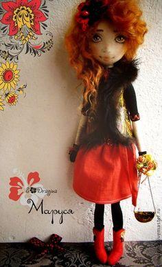 Коллекционные куклы ручной работы. Ярмарка Мастеров - ручная работа Маруся. Handmade.