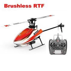 XK K110 Blast 6CH Brushless 3D6G System RC Helicopter RTF for Kids Children Funny Toys Gift RC Drones Outdoor with FUTABA S-FHSS Drone Remote, Rc Drone, Drone Diy, Remote Control Toys, Radio Control, Post Office, Office Fun, Mode 3d, Software